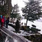 1月26日 スノーシュー体験シリーズ   冬の余呉湖とスノーシュー体験