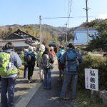 2月23日 ブナ林の中 冬の菅山寺を歩く