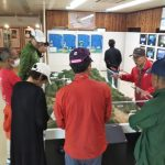 「賤ケ岳合戦の展示と湖北の特産展」