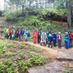 6月8日 山門水源の森ハイキング ササユリとコアジサイの森を訪ねる