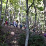 11月10日 己高山仏教文化の遺跡 秋の山岳寺院「高尾寺」跡を訪ねる